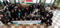 Dél-koreai vendégdiákok a Lónyayban
